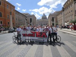 Staffetta ciclistica Roma – Alzano Sopra