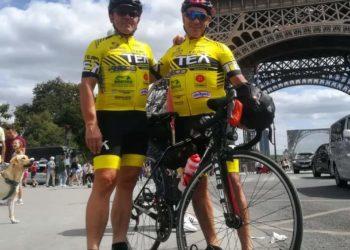 Il team TEX alla Parigi-Brest-Parigi con Michele e Oliviero