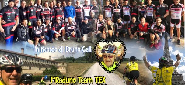 """La 2a edizione della 111 """"ciclopedalata tra i castelli"""" con il 1°Raduno del Team TEX!"""