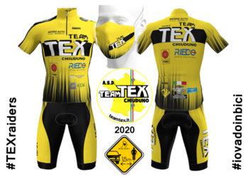 La maglia Team TEX 2020: le prime immagini dei TEXraiders!