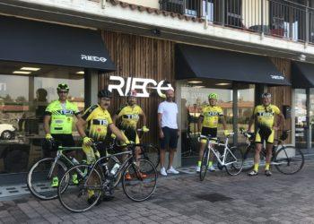 Pedalando con i nostri sponsor: RIECO!