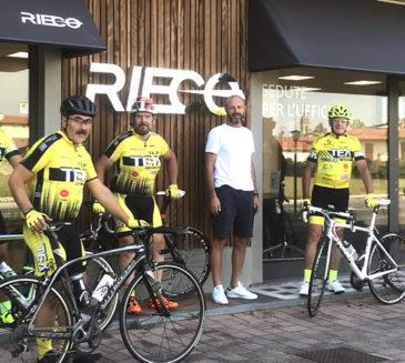 Pedalando con i nostri sponsor: Eccoci con Rieco!